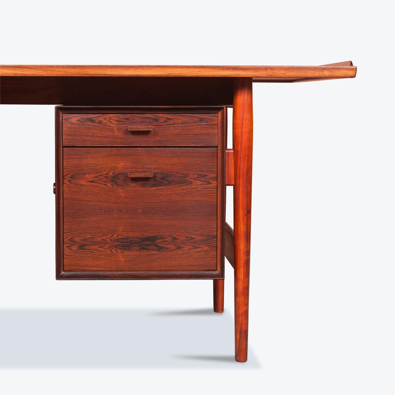 listings teak century danish mid desk vinterior