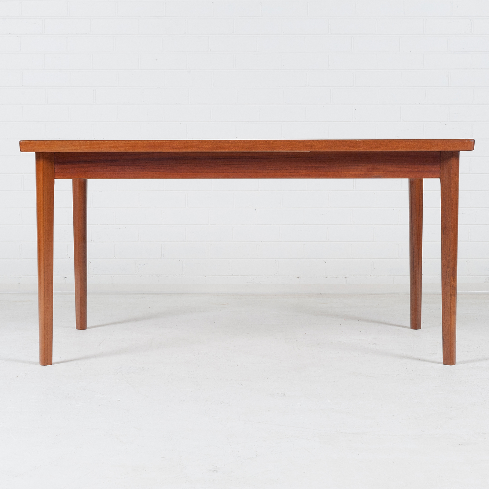 Dining Table In Teak With Two Extensions And