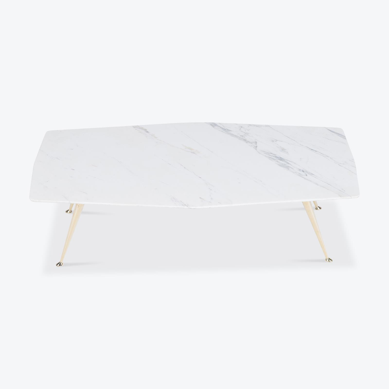 Geometric Coffee Table By Modern Times In White Marble Australia