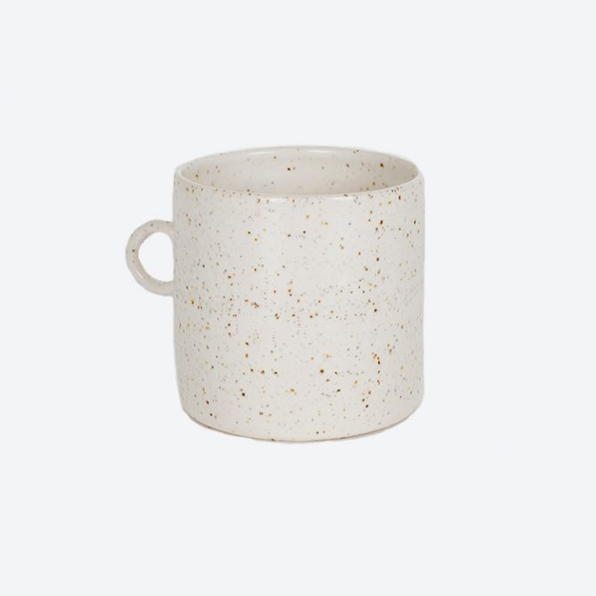 Circle Mug, in Stoneware by Claudia Lau