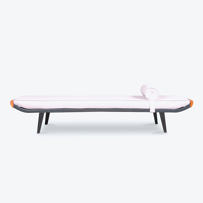 Cleopatra Daybed by Andre Cordemeyer for Auping in New Wool Upholstery, 1950s, Netherlands