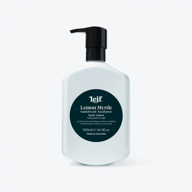 Large Body Balm 500ml In Lemon Myrtle By Leif Thumb