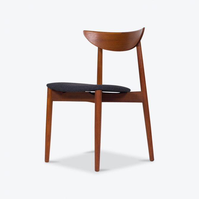 Set 8 Dining Chairs by Kurt Ostervig in Teak, 1960s, Denmark