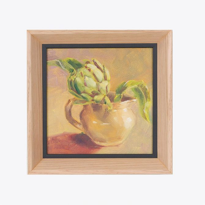 Artichoke Awaiting Sentence Original Painting By Margie Voterakis Thumb.jpg