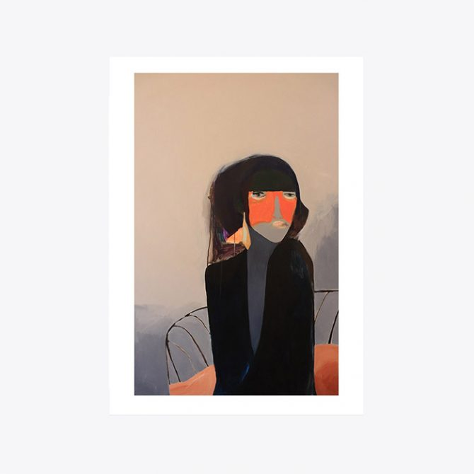 Gold Earring Modern Times Edition Art Print By Stacey Rees Thumb 9.jpg