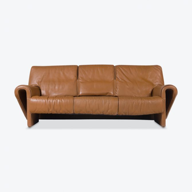 3 Seat Sofa By De Sede In Caramel Leather 1960s Denmark Thumb.jpg