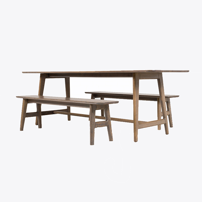 Little Smith St Dining Suite By Studio Thomas Lentini In American Oak With Clear Finish Australia Thumb