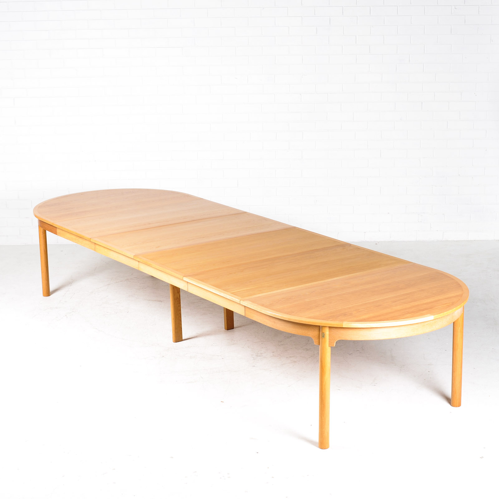 Extra Large Dining Table By Borge Mogensesn In Oak With