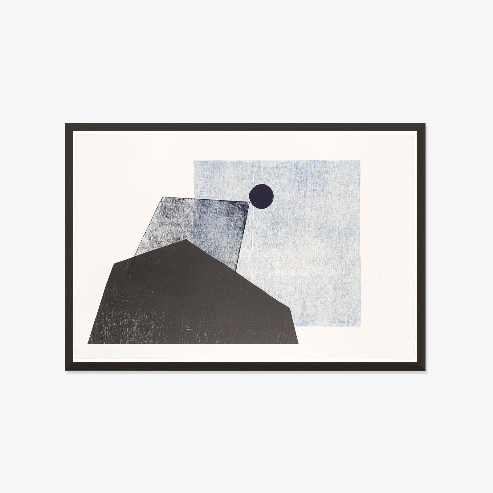 Midnight Shadows Original Print By Ellie Malin Ds