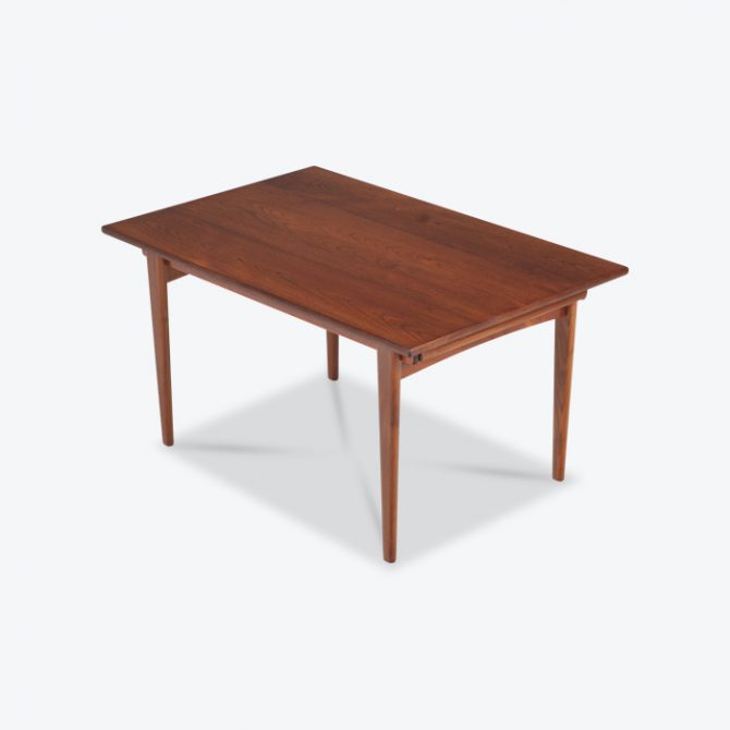 Rectangular Dining Table By Johannes Anderson In Teak With Box Leg System Thumb.jpg