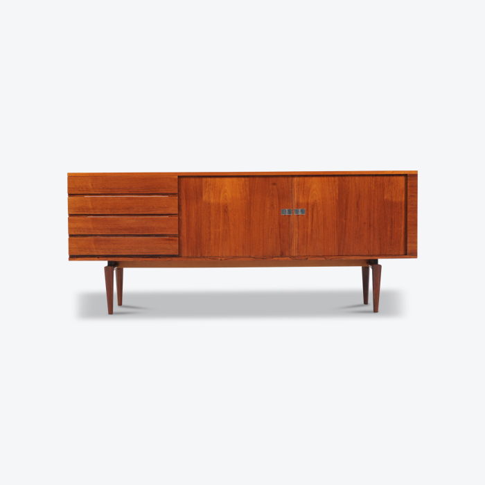 Sideboard H W Klein In Rosewood With Tambour Doors Thumb.jpg