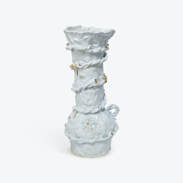 1990 Holiday In Glazed Stoneware With Lustre By Tessy King Thumb.jpg