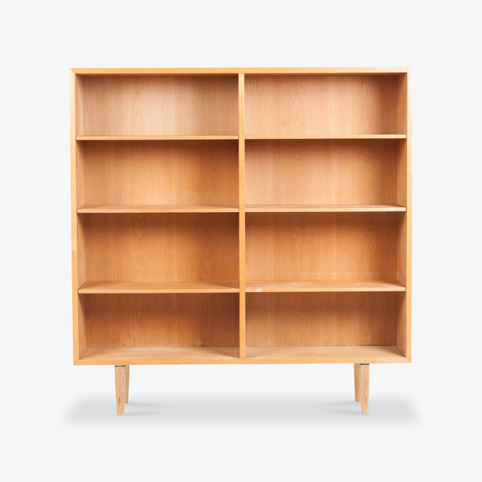 Bookcase By Borge Mogensen For Fdb In Oak 1960s Denmark Thumb.jpg