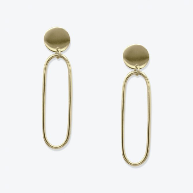 Expressionist Earrings In Gold Plated Sterling Silver By Toyah Perry Thumb.jpg
