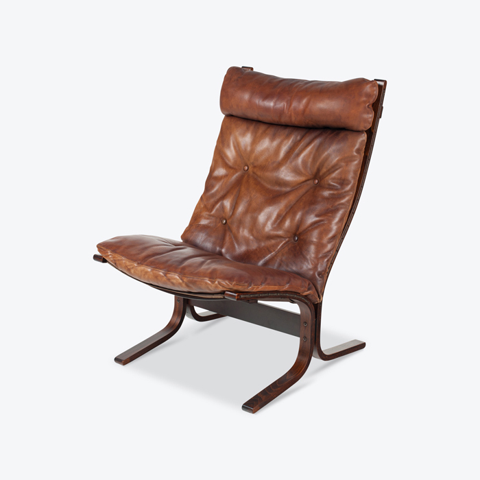 Highback Siesta Armchair By Ingmar Relling In Patinated Brown Leather 1930s Netherlands Thumb 1.jpg