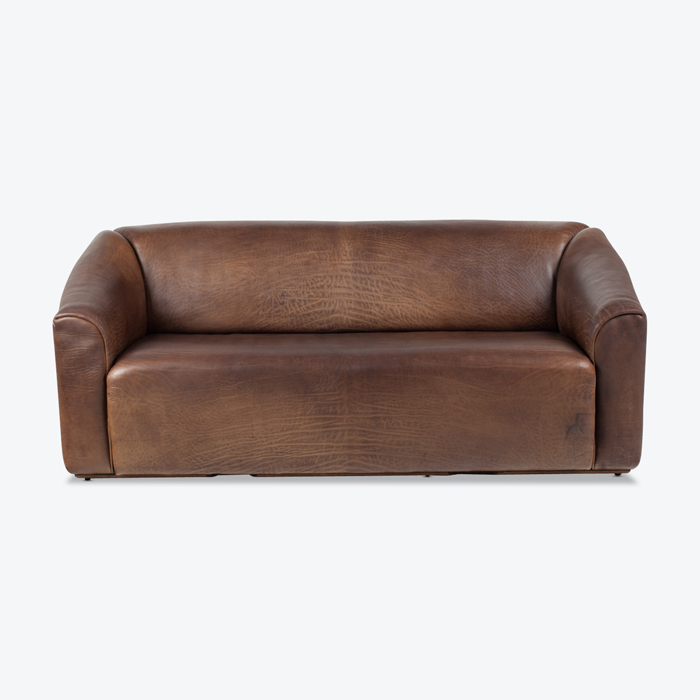 Model Ds47 3 Seat Sofa By De Sede In Thick Brown Leather 1970s Switzerland Thumb.jpg