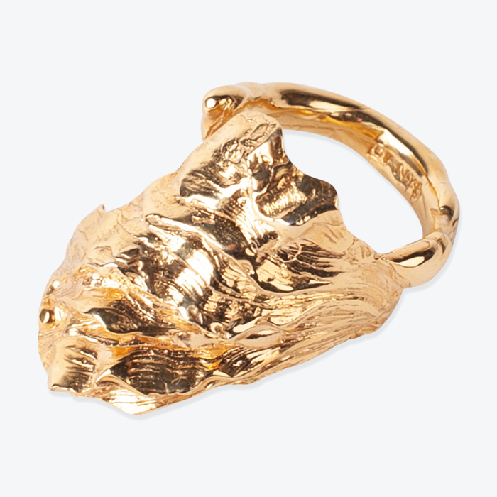 Oyster Ring 18ct Gold Plated Ring By By Nye Thumb.jpg