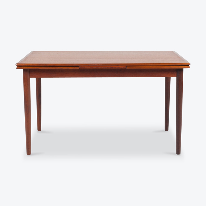 Rectangular Dining Table By Henning Kjaernulf With 2 Extensions In Teak 1960s Denmark Thumb.jpg
