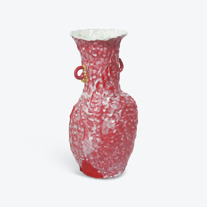 Red Velvet In Glazed Stoneware With Lustre By Tessy King Thumb.jpg