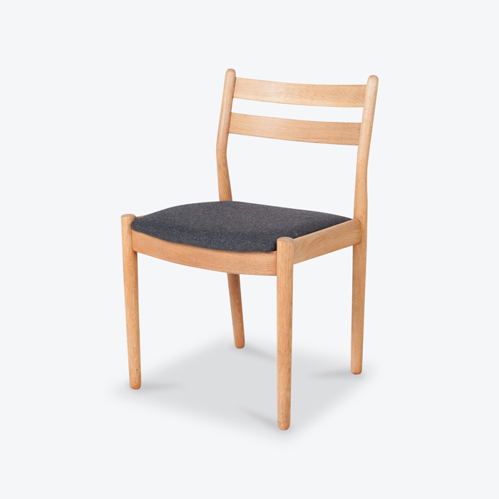Set Of 8 Dining Chairs By Borge Mogensen For Fdb In Oak And Blue Upholstery 1960s Denmark Thumb