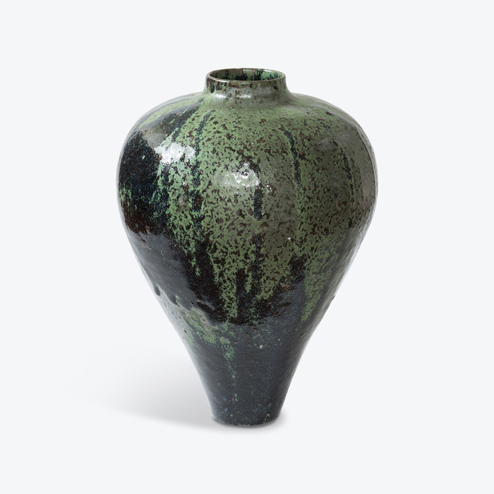 Verdigris Stoneware With Green Glaze And Manganese Oxide Detail By Nicolette Johnson Thumb.jpg