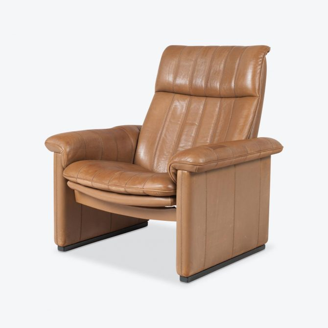 Ds 50 Armchair By De Sede In Light Tan Neck Leather 1970s Switzerland 01