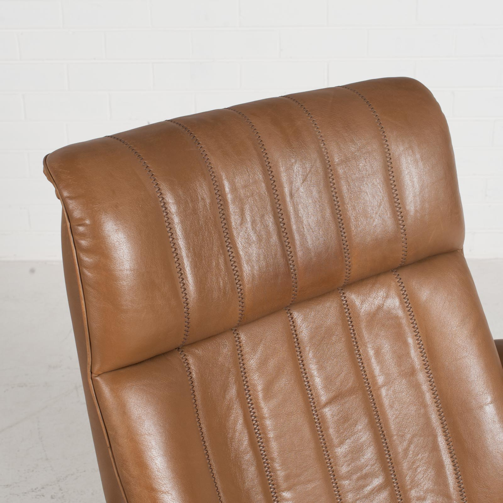 Ds 50 Armchair By De Sede In Light Tan Neck Leather 1970s