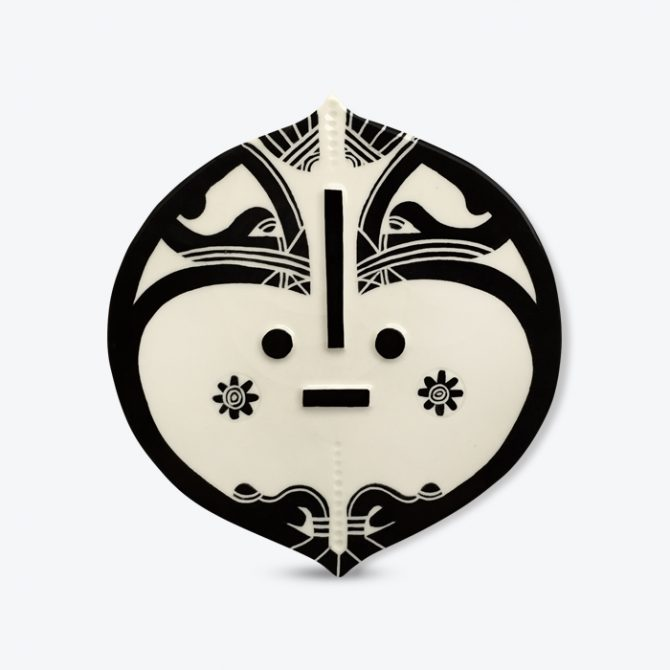 Janis Ceramic Wall Plaque By Louise Kyriakou Thumb.jpg