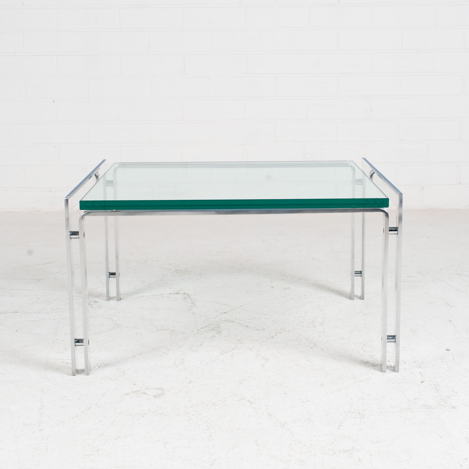 M1 Coffee Table By Hank Kwint For Metaform In Chrome 1970s Netherlands 01