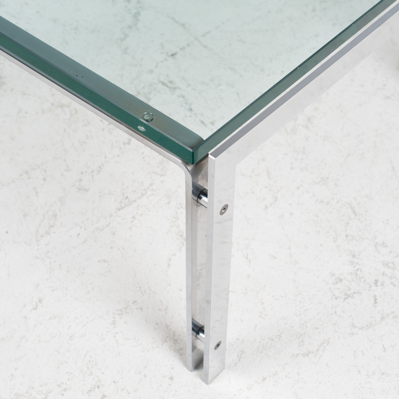 M1 Coffee Table By Hank Kwint For Metaform In Chrome 1970s Netherlands 03