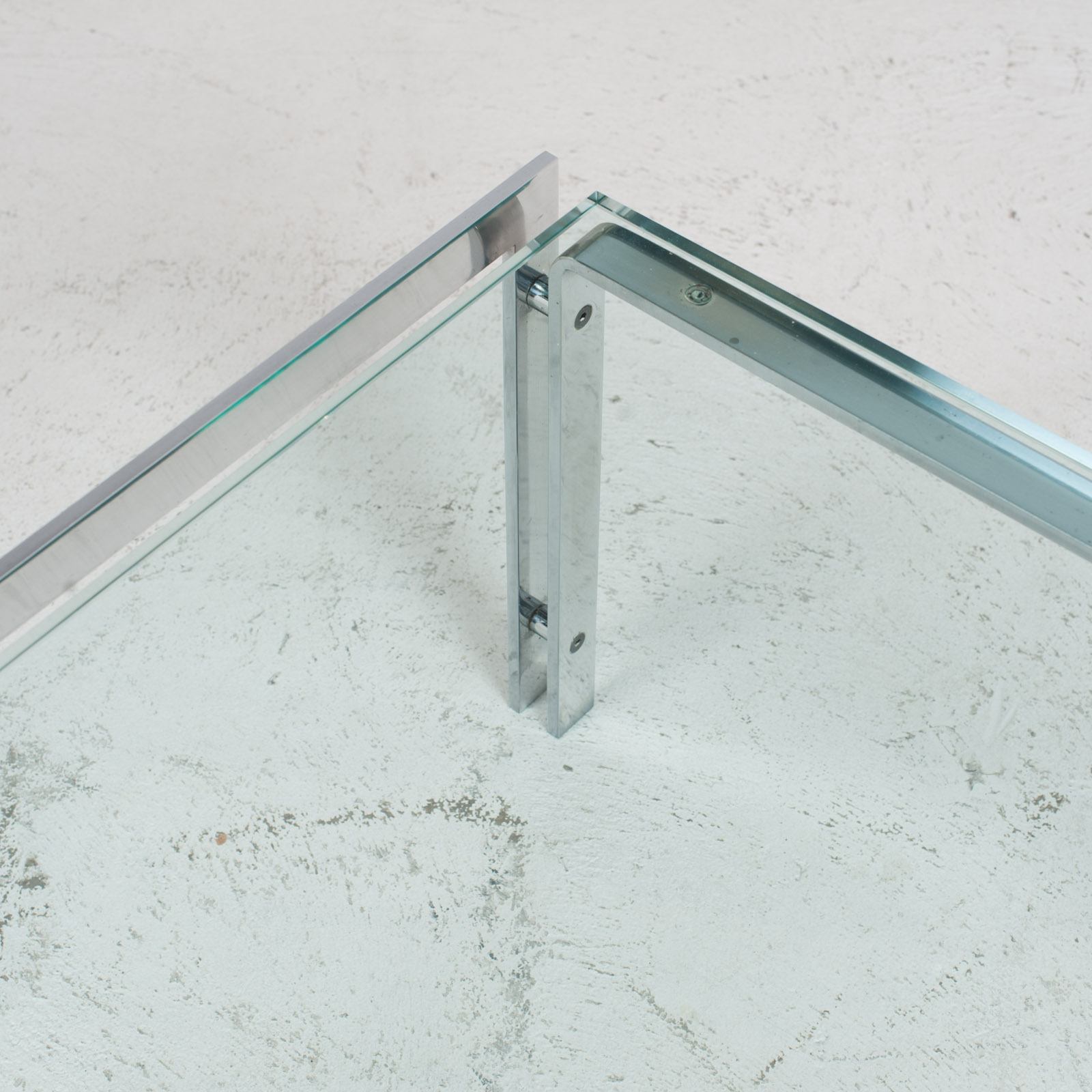 M1 Coffee Table By Hank Kwint For Metaform In Chrome 1970s Netherlands 05