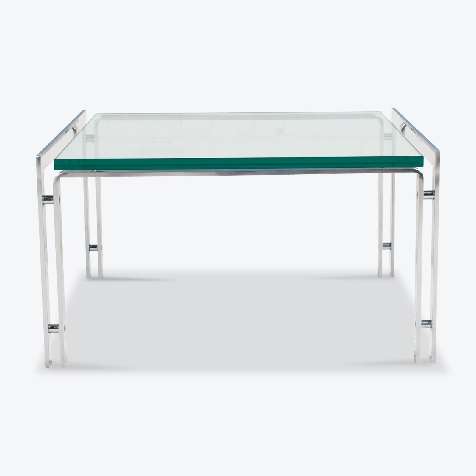M1 Coffee Table By Hank Kwint For Metaform In Chrome 1970s Netherlands 10