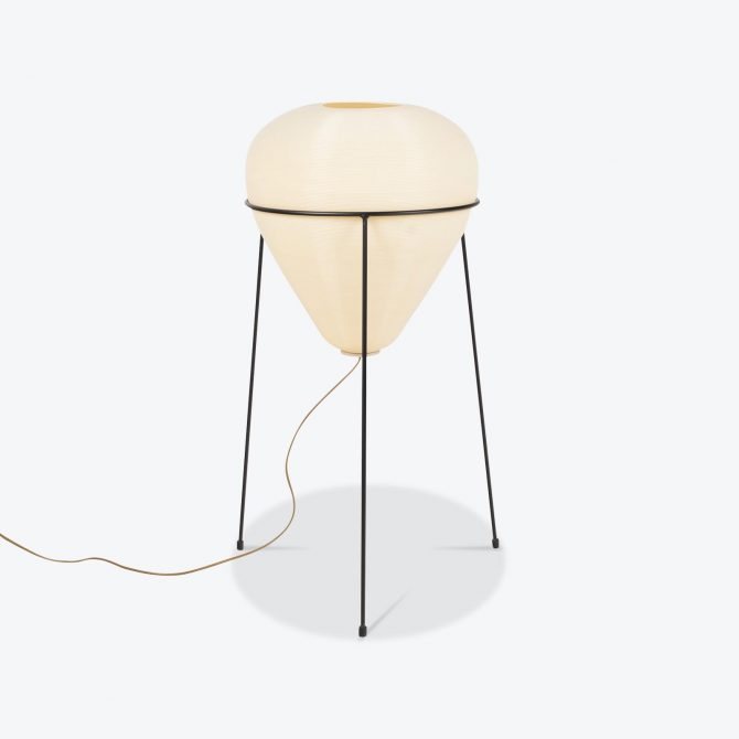 Orb Floor Lamp With Wire Base 1950s Netherlands 01.jpg