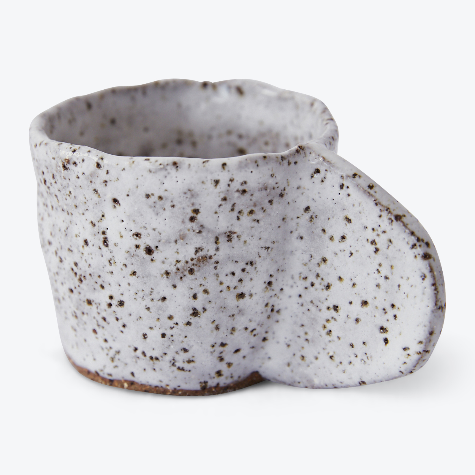 Crescent Espresso Mug In Speckled Stoneware By Gretel Corrie 01.jpg