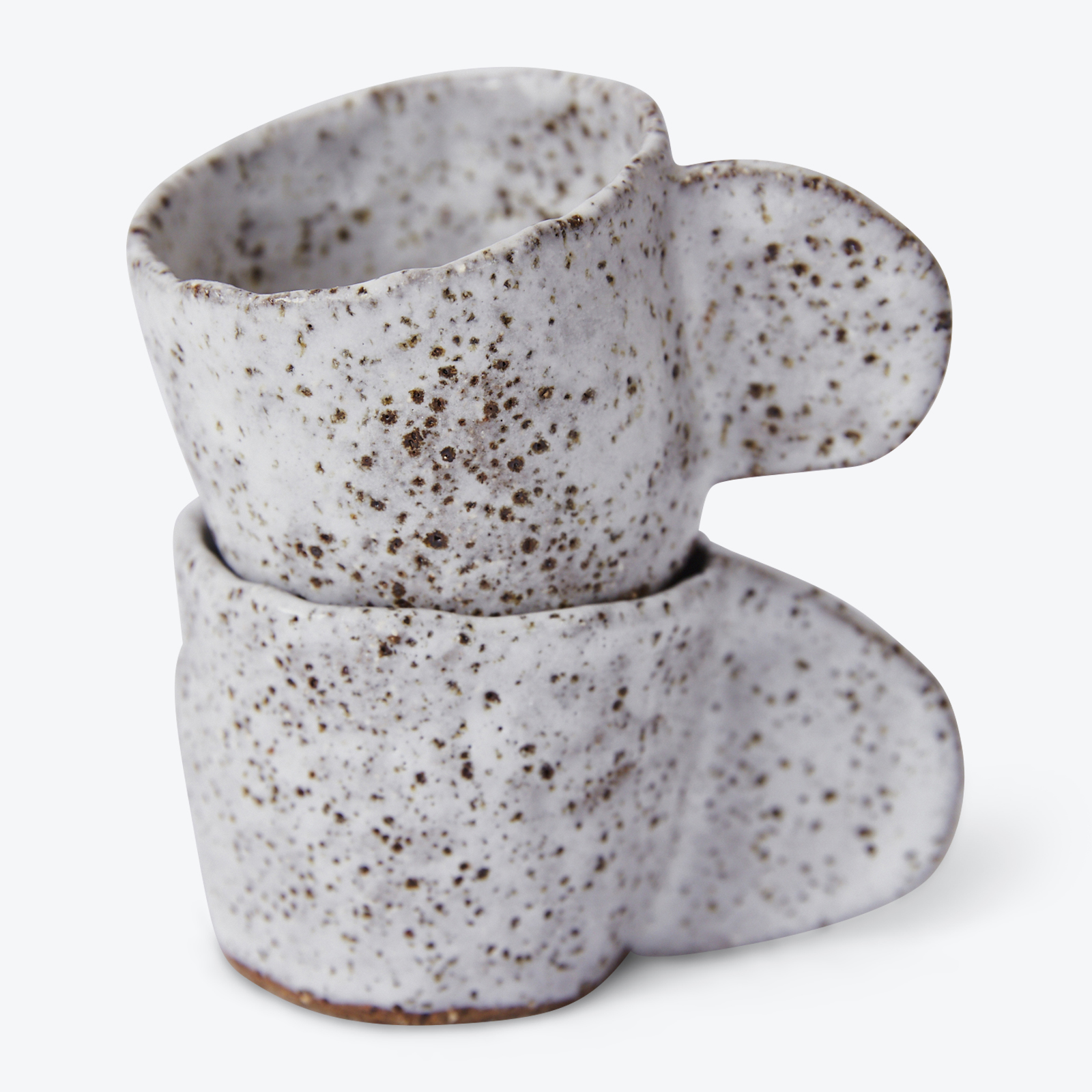 Crescent Espresso Mug In Speckled Stoneware By Gretel Corrie 02.jpg