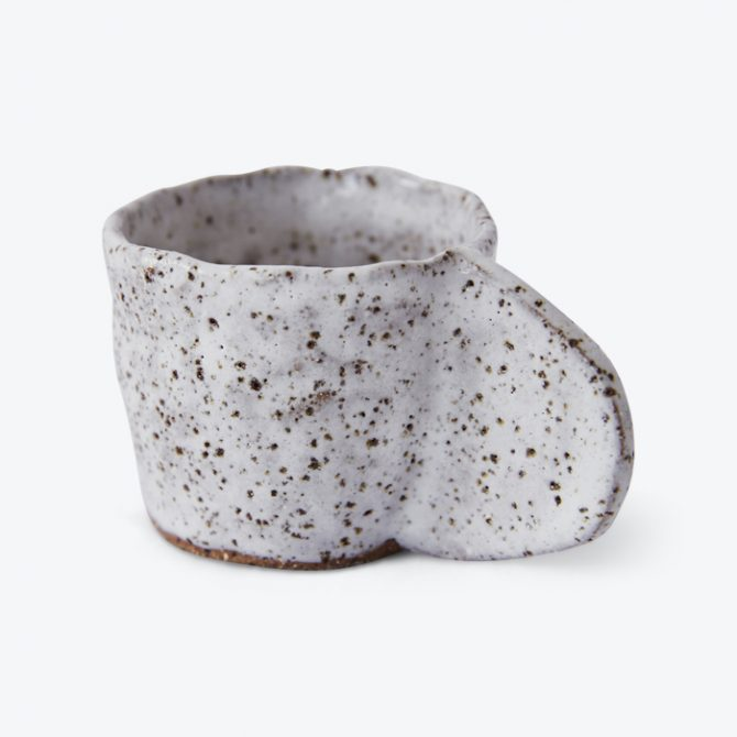 Crescent Espresso Mug In Speckled Stoneware By Gretel Corrie Thumb