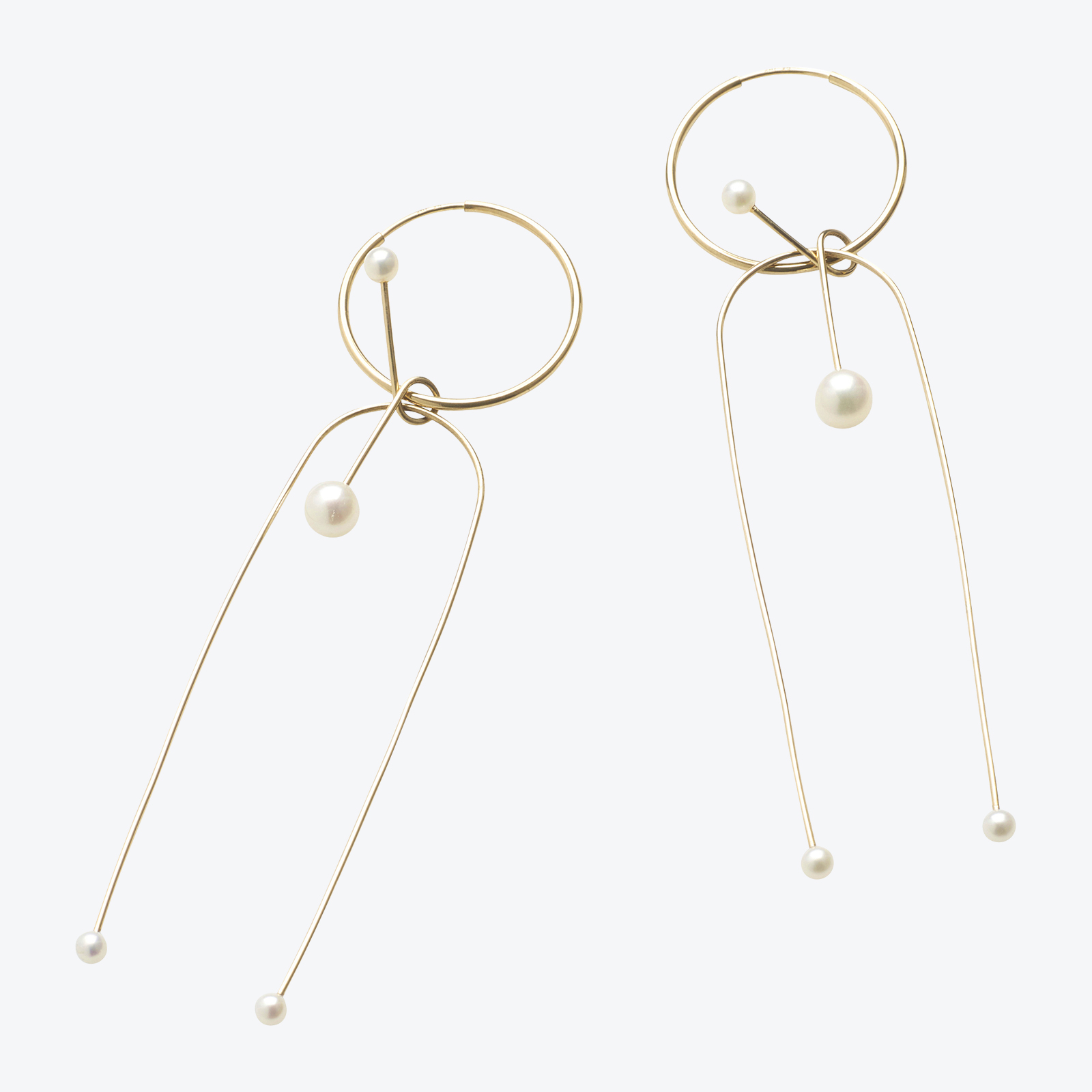 Large Twirl Earrings In Gold Filled With Freshwater Pearls By Pip Stent.jpg