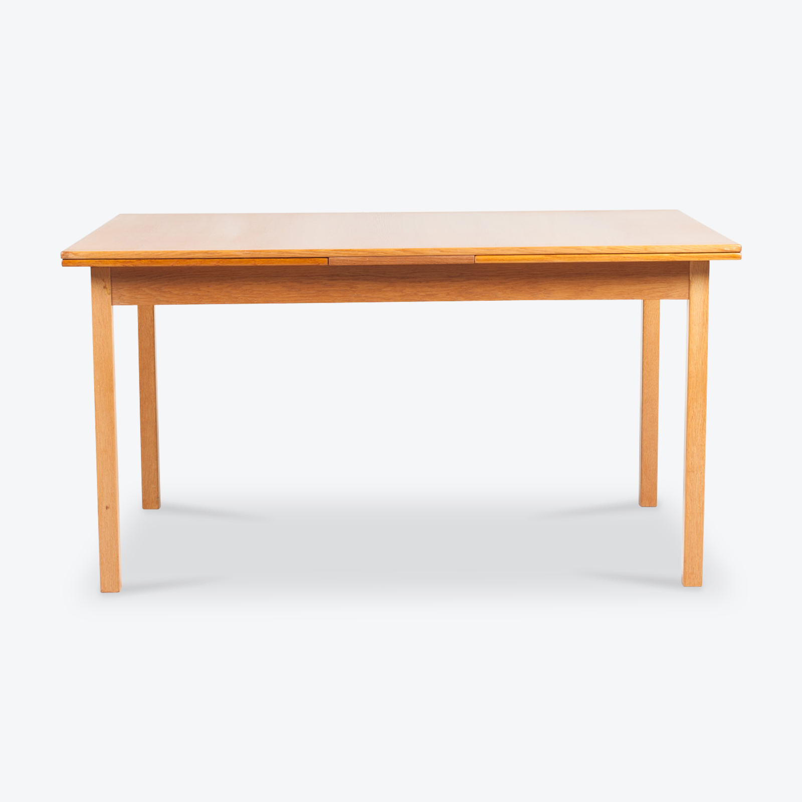 Rectangluar Dining Table By Nils Jonsson For Troeds In Teak With Breadboard Edging 1960s Denmark 00