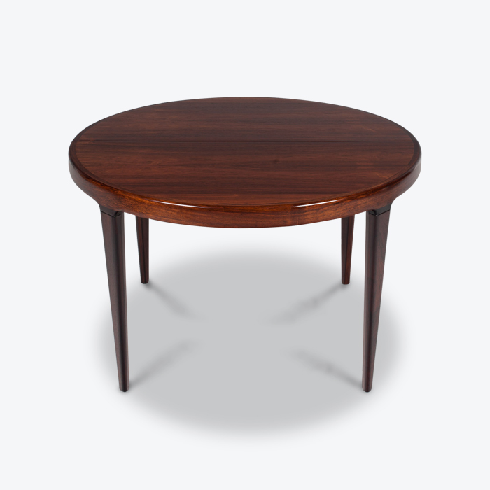 Round Dining Table By Johannes Andersen For Uldum In Rosewood With Two Extensions 1960s Denmark Thumb.jpg