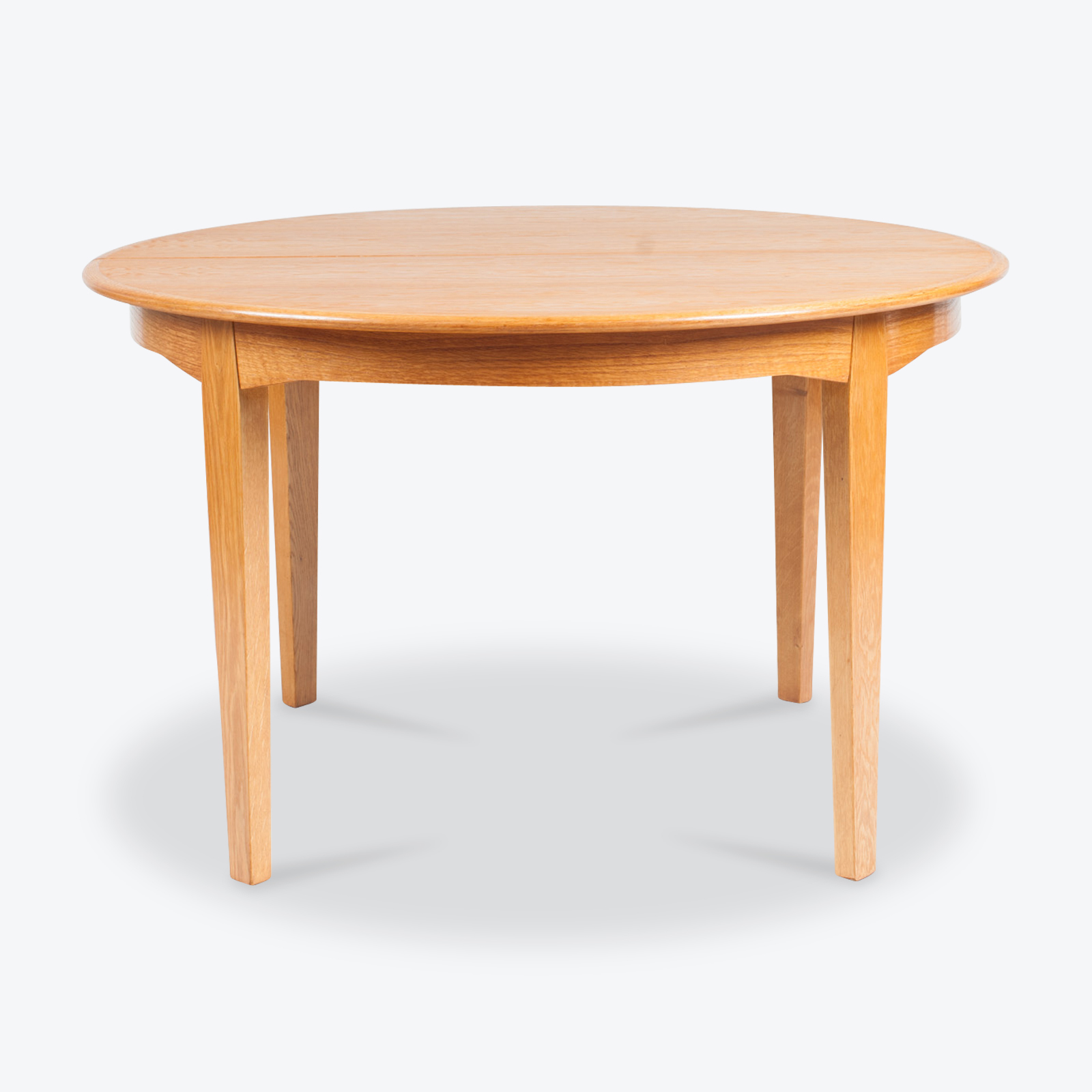 Round Dining Table In Oak 1960s Denmark 00.jpg