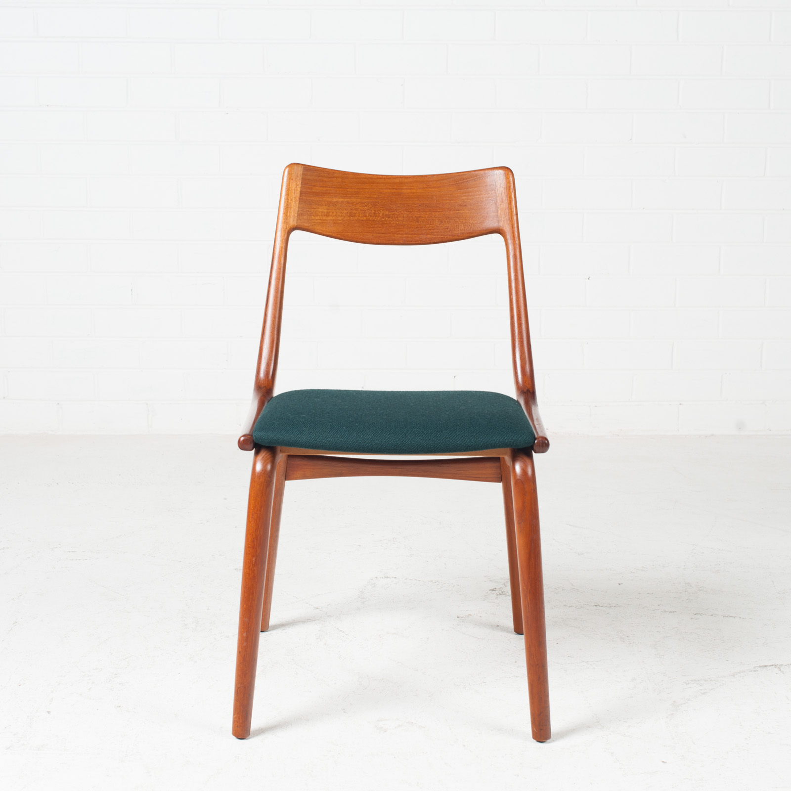 Set Of 6 Model 370 'boomerang' Dining Chair By Alfred Christensen In Teak For Slagelse Mobelfabrik 1950s Denmark 01