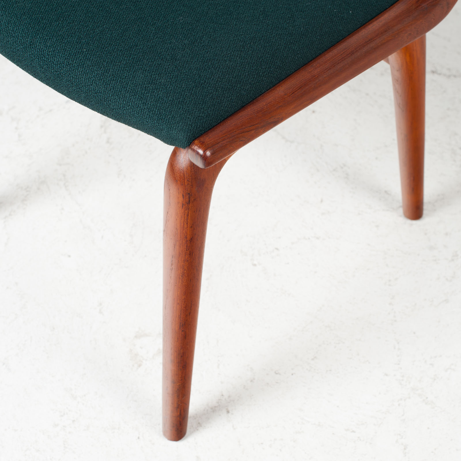 Set Of 6 Model 370 'boomerang' Dining Chair By Alfred Christensen In Teak For Slagelse Mobelfabrik 1950s Denmark 03