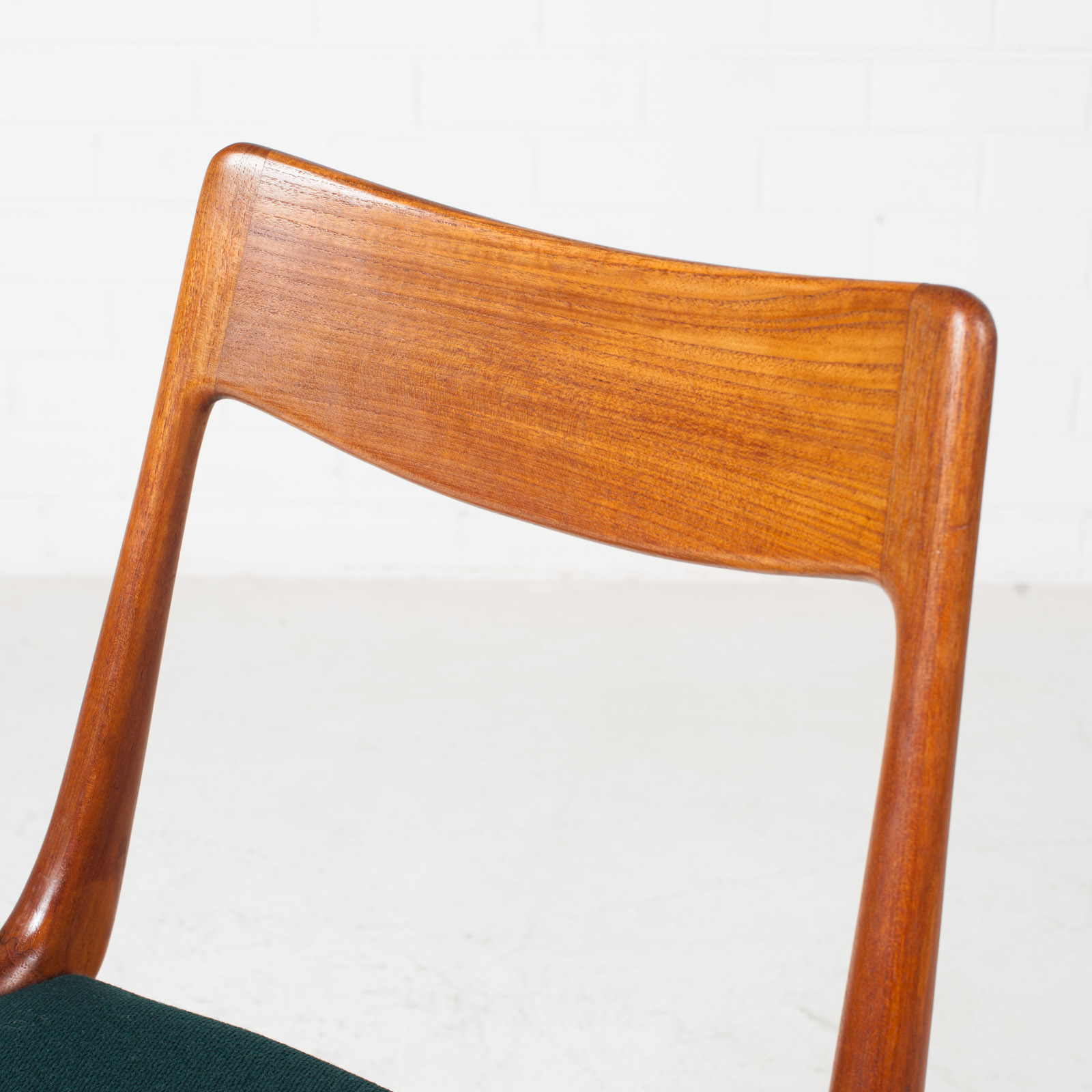 Set Of 6 Model 370 'boomerang' Dining Chair By Alfred Christensen In Teak For Slagelse Mobelfabrik 1950s Denmark 05