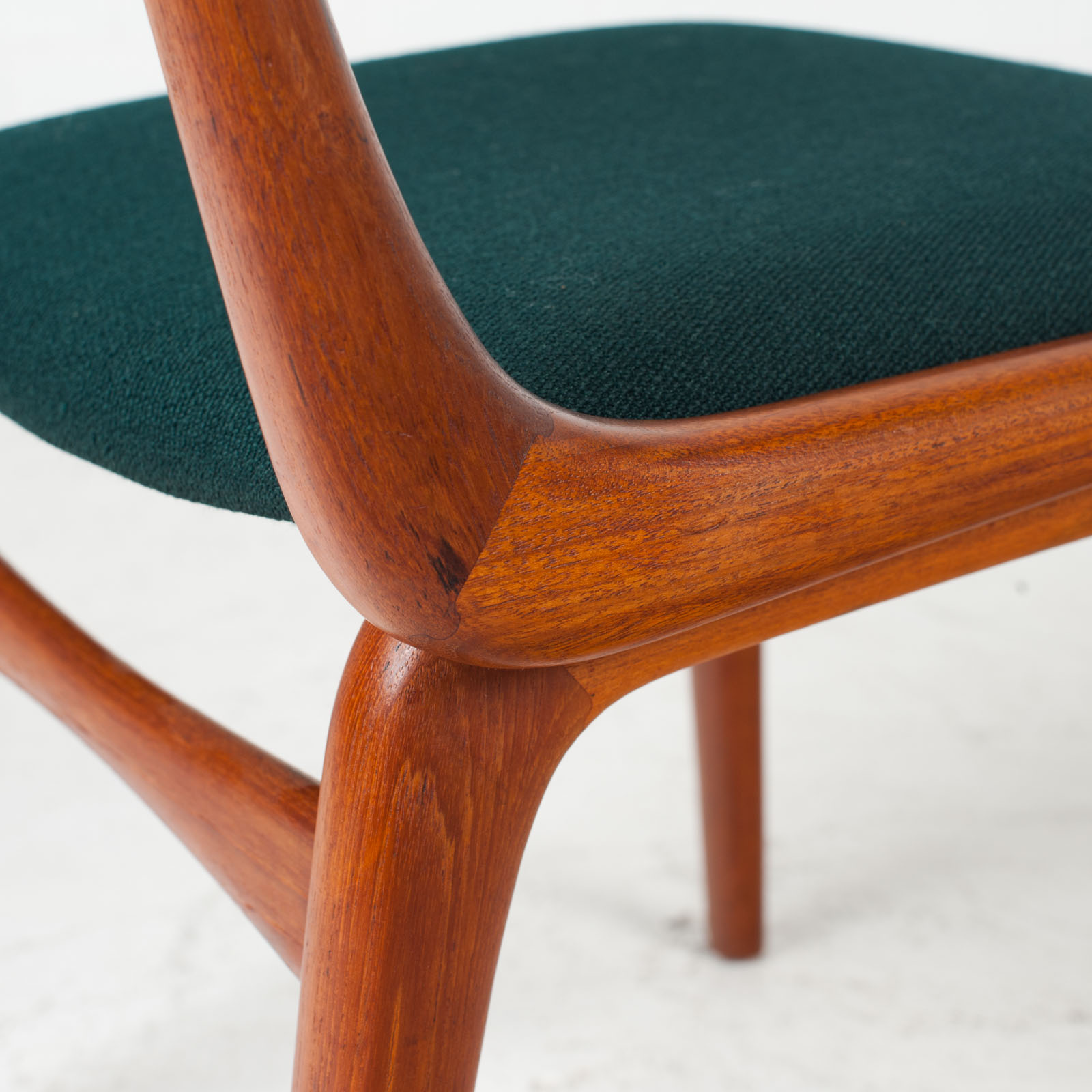 Set Of 6 Model 370 'boomerang' Dining Chair By Alfred Christensen In Teak For Slagelse Mobelfabrik 1950s Denmark 08