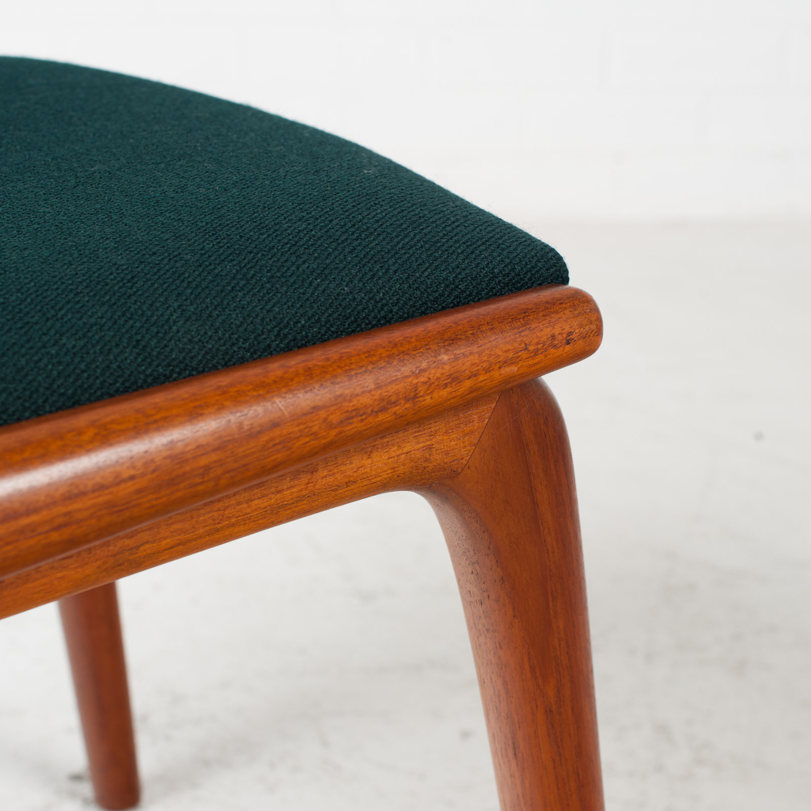 Set Of 6 Model 370 'boomerang' Dining Chair By Alfred Christensen In Teak For Slagelse Mobelfabrik 1950s Denmark 09
