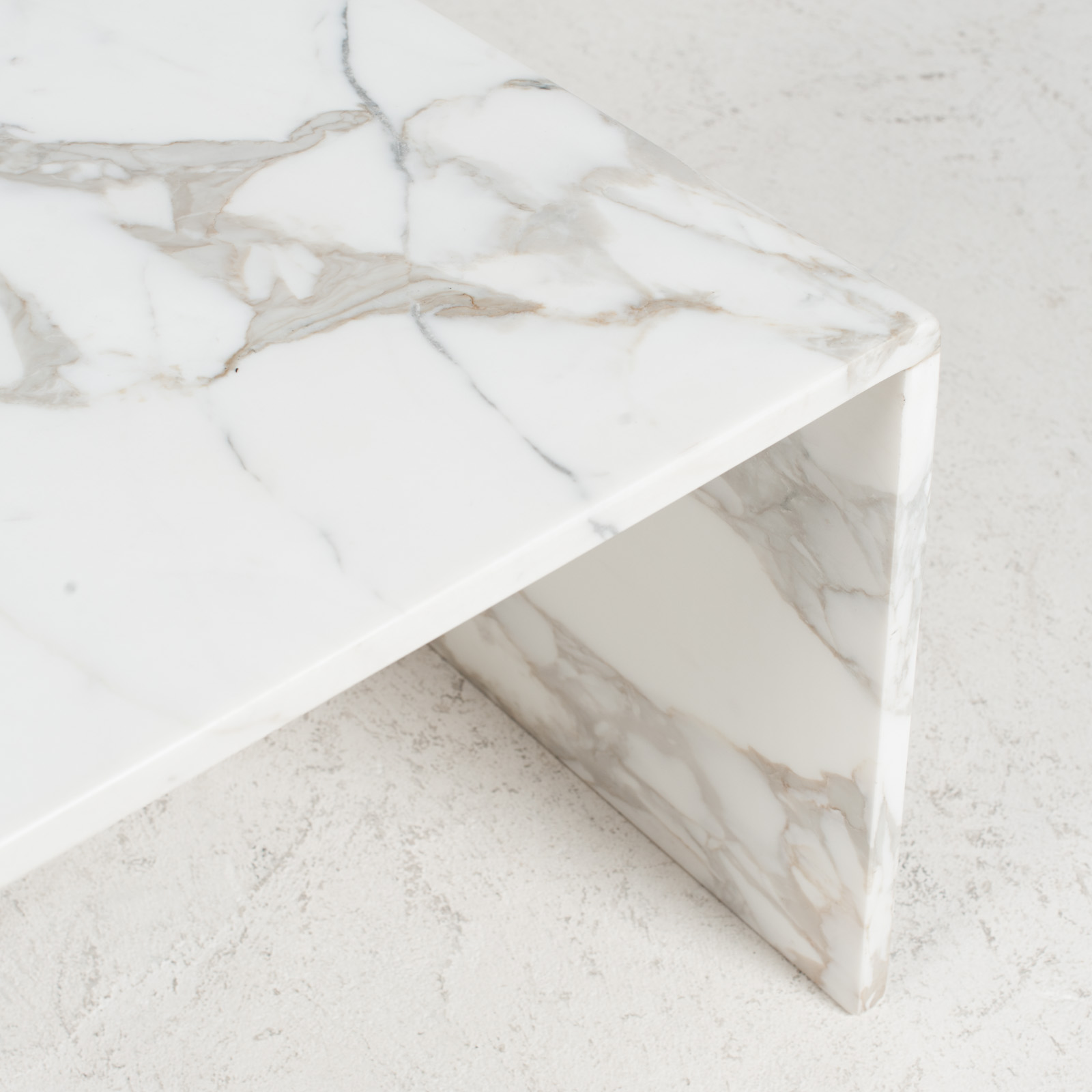 Side Table In Calacatta Marble 1960s Netherlands 06