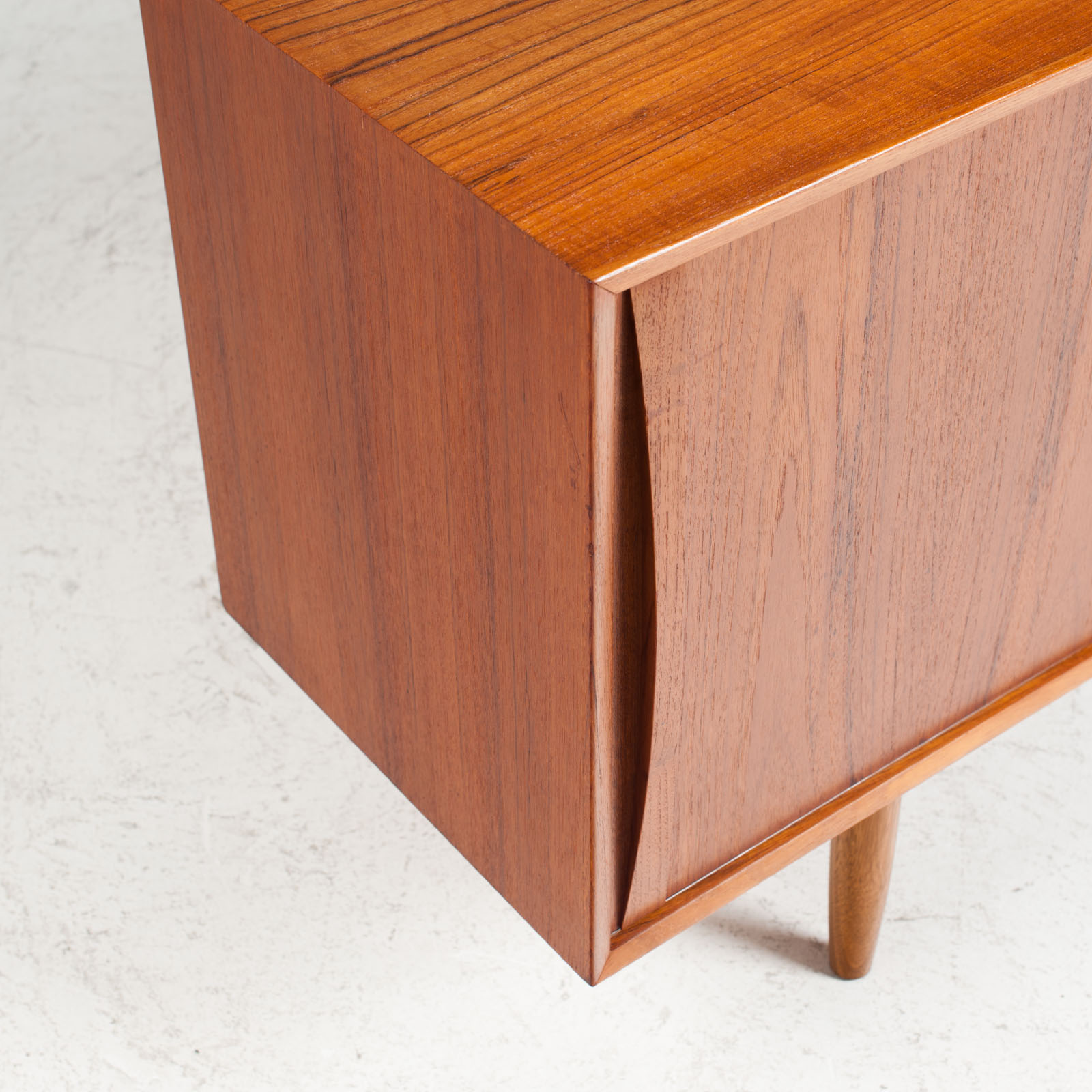 Sideboard In Teak With Two Sliding Drawers 1960s Denmark 05