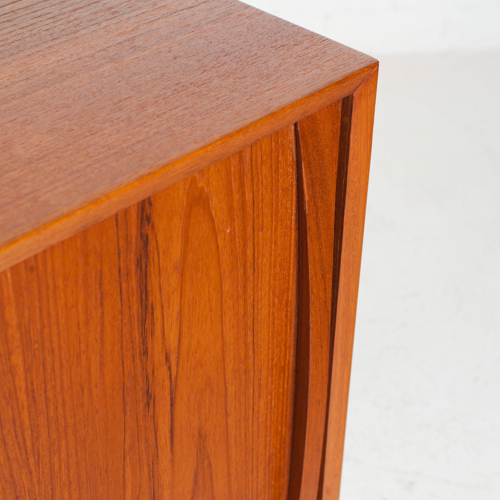 Sideboard In Teak With Two Sliding Drawers 1960s Denmark 08