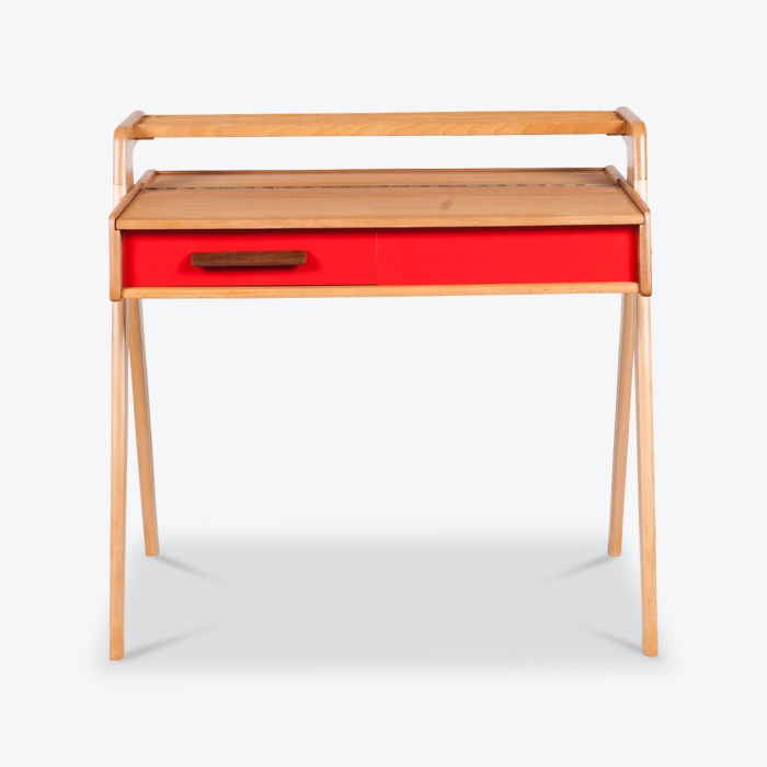 Writing Desk In Oak 1950s Netherlands Thumb.jpg