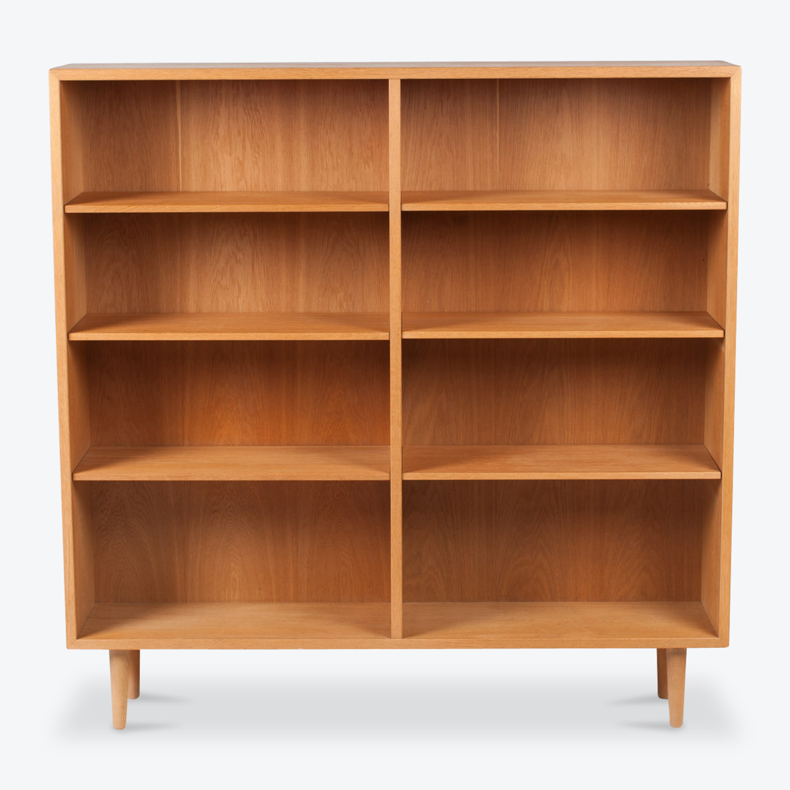 Bookcase By Borge Mogensen In Oak 1960s Denmark 01